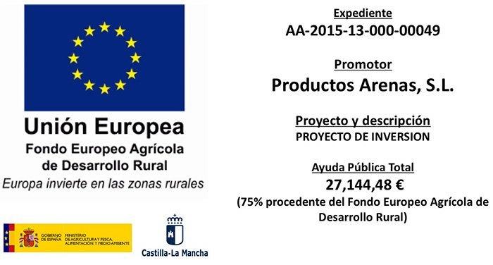 Fondo Europeo de Desarrollo Regional - Info