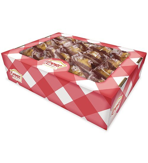 Magdalenas Concha rellenas crema de cacao granel 40 unidades (2 bolsas de 20 unidades)