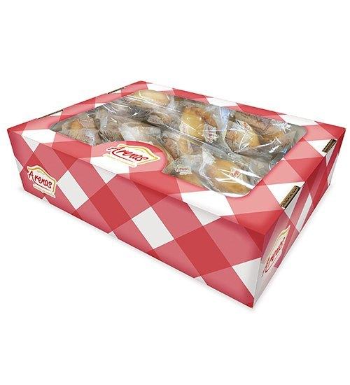 Shell Madeleines bulk box 40 unit (2 bag of 20 unit)