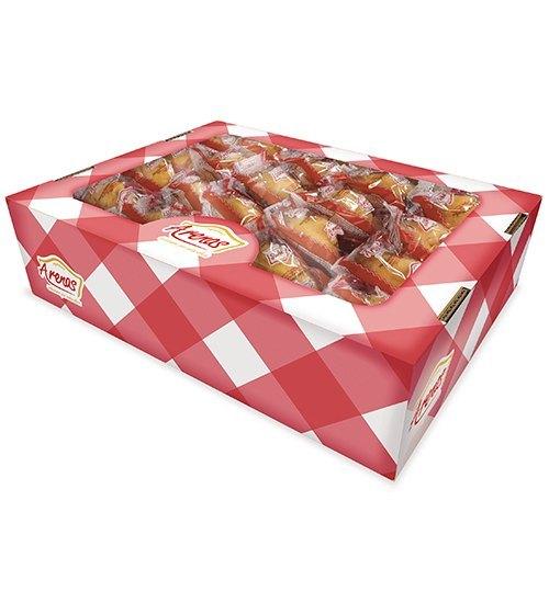 Magdalenas Concha rellenas confitura de fresa granel 40 unidades (2 bolsas de 20 unidades)